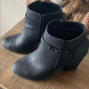 Soda Belted Ankle Booties